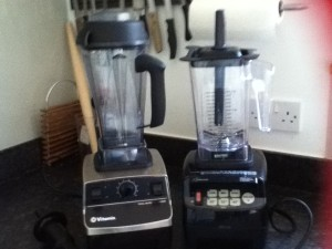 Vitamix and Optimum 9200 with 1.5L Jug